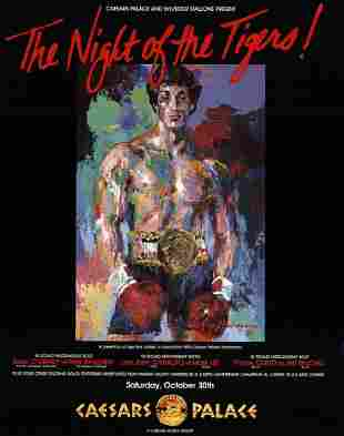 LeRoy Neiman - The Night of the Tigers - 1981 Offset