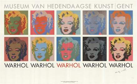 Andy Warhol - 10 Marilyns - 1982 Offset Lithograph -