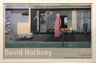 David Hockney - Beverly Hills House Wife - 2001 Offset
