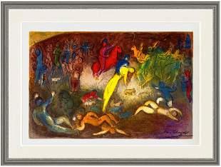 Marc Chagall - Enlevement de Chloe (Abduction of Chloe)