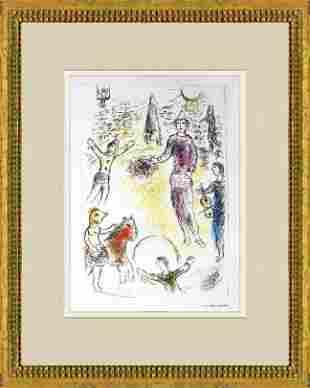 Marc Chagall - Les Clowns Musiciens - 1981 Offset