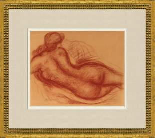 """Aristide Maillol - Nude - Offset Lithograph 14"""" x 16"""""""