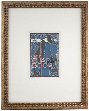 """Will H. Bradley - The Chap Book - 1897 Lithograph 20"""" x"""