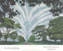 David Hockney - Summer Sky - 2008 Offset Lithograph