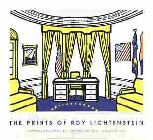 """Roy Lichtenstein - The Oval Office - 1997 Serigraph 27"""""""