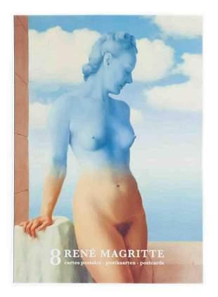 "Rene Magritte - 2 sets of 8 cards - 2012 6"" x 4.25"""
