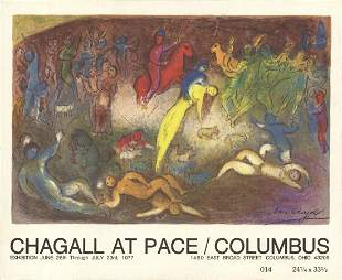 """Marc Chagall - Deck of 50 cards - 1977 5.75"""" x 7"""""""