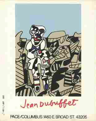 Jean Dubuffet - Inspection of the Territory x 50 cards