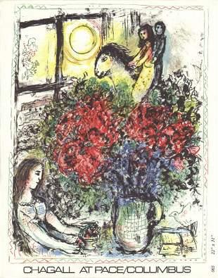 "Marc Chagall - La Chevauchee x 50 cards - 1979 7.25"" x"