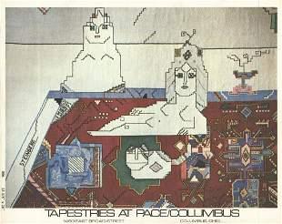 "Saul Steinberg - Persian Rug x 50 cards - 1977 5.75"" x"