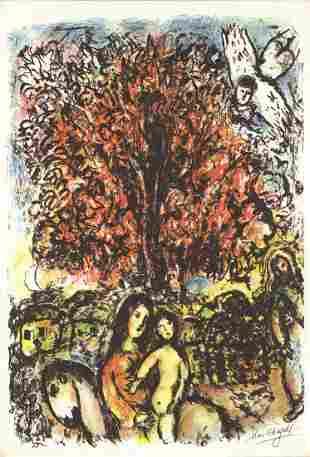 "Marc Chagall - Sainte Famille x 50 cards - 1976 7.5"" x"