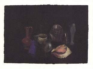 """Jim Dine - Still Life x 50 cards - 1979 7"""" x 9.25"""""""