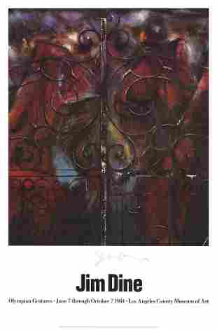 Jim Dine - Detail from the Crommelynck Gate (The