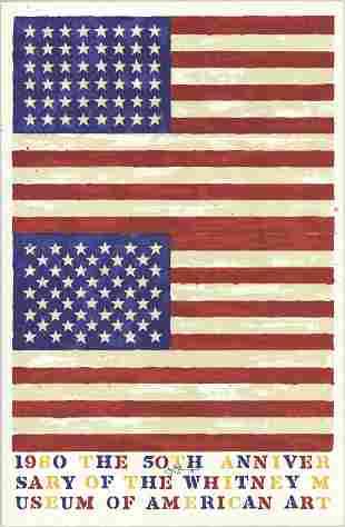 Jasper Johns - The 50th Anniversary of the Whitney