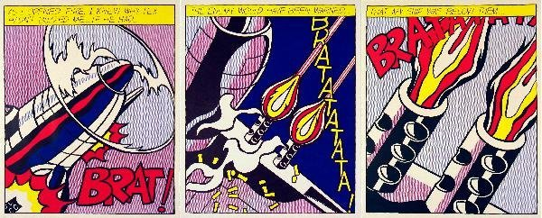 000011: 6 Assorted Pop Comic Strip Posters