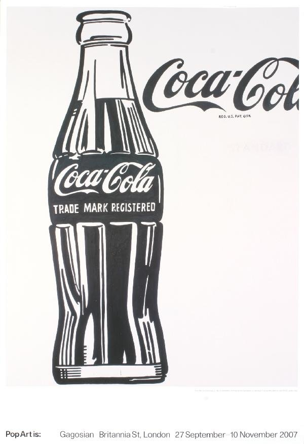000022: 5 Assorted Warhol Ads Posters