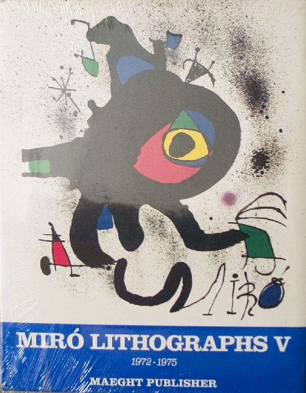 000036: 2 Assorted Miro Lithographs Books