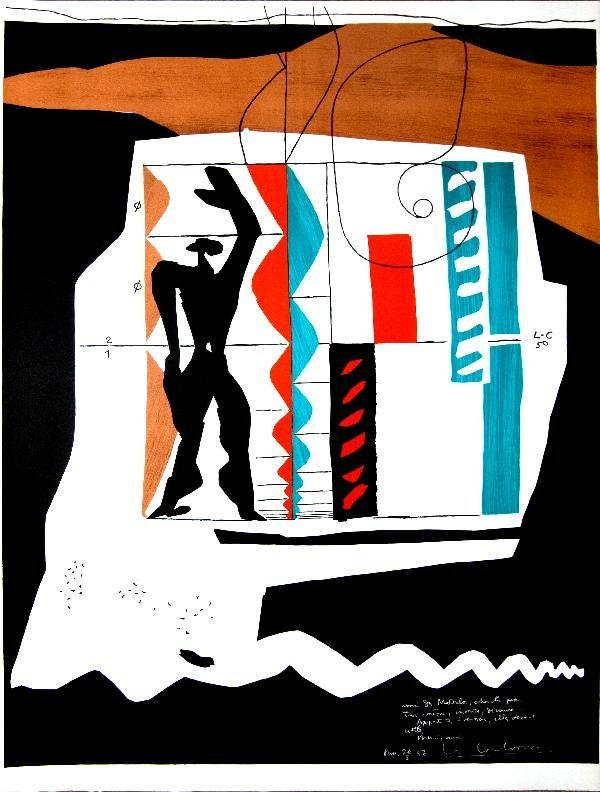 000039: 8 Assorted Le Corbusier Limited Edition Posters