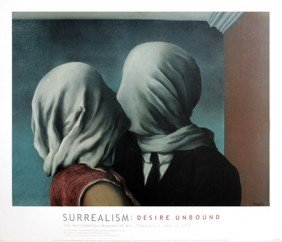 737: Magritte The Lovers, 1928 Poster