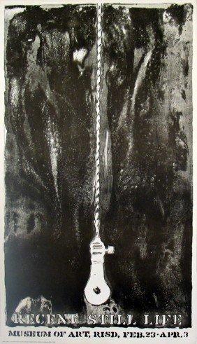 1968 Johns Lightbulb Lithograph