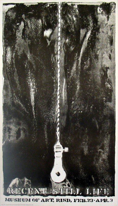 101042: 1968 Johns Lightbulb Lithograph