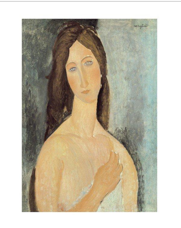122072: Modigliani Jeanne Hebuterne aux Epaules Nues