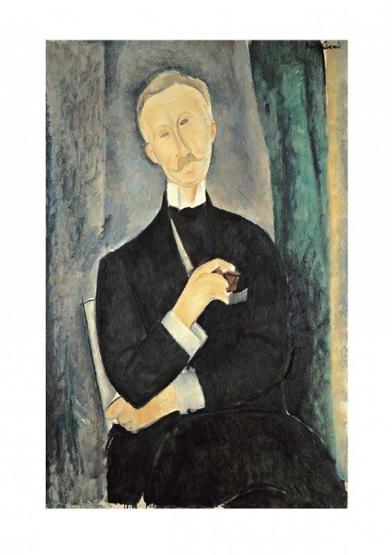 122075: Modigliani Roger Dutilleul Mixed Media