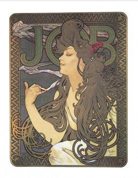 122086: Mucha Job (Restrike) Mixed Media