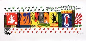 122118: Matisse One Thousand and One Nights Serigraph
