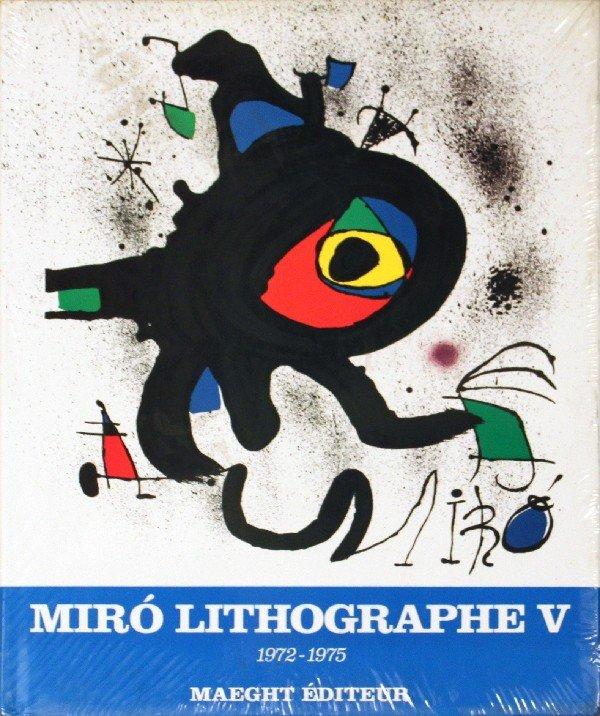 1330011C: 1975 Miro 1972-1975. Volume 5, Lithographs V