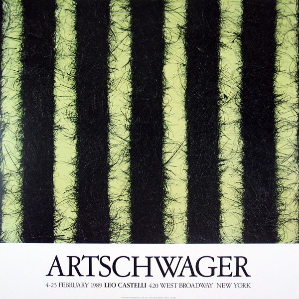 25 Artschwager At Castelli's Posters