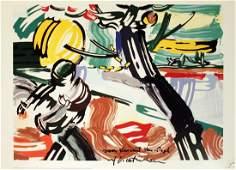 1010: 1990 Lichtenstein The Sower Poster