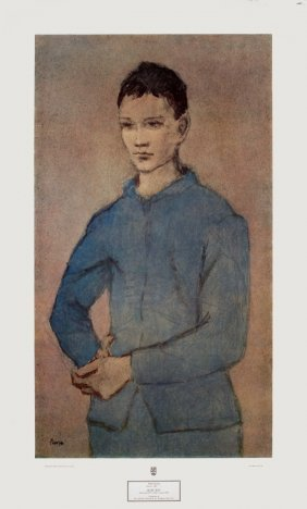 Picasso Blue Boy Poster