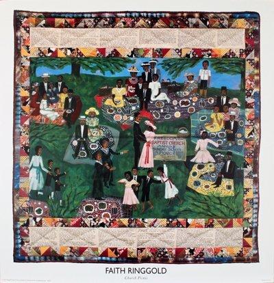 1203: Ringgold Church Picnic Poster