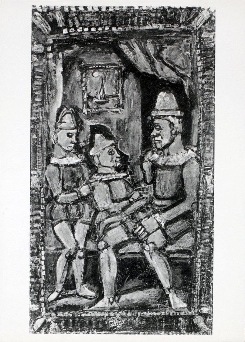 1213: Rouault Three Figures Poster