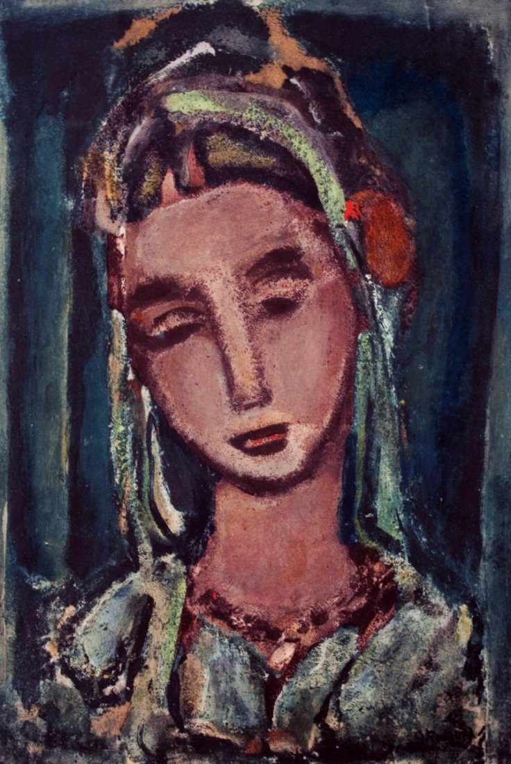 1219: Rouault Untitled Poster