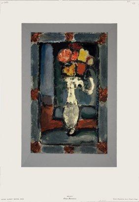 Rouault Fleurs Decoratives Lithograph