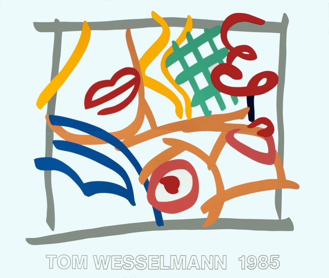 1246: 1985 Wesselmann Untitled Serigraph