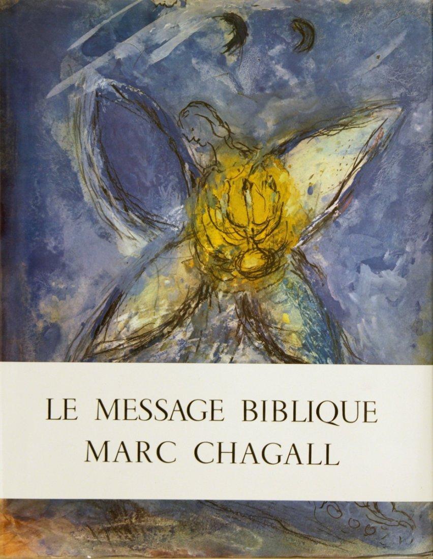 1252: 1972 Message Biblique Marc Chagall Mourlot Book