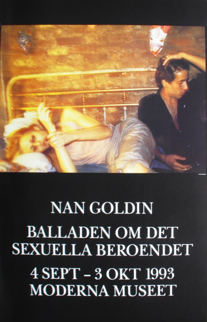 1433: 1993 Goldin Ballad of Sexually Addicted Poster