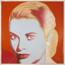 1441: Warhol Grace Kelly (Porcelain) Sculpture