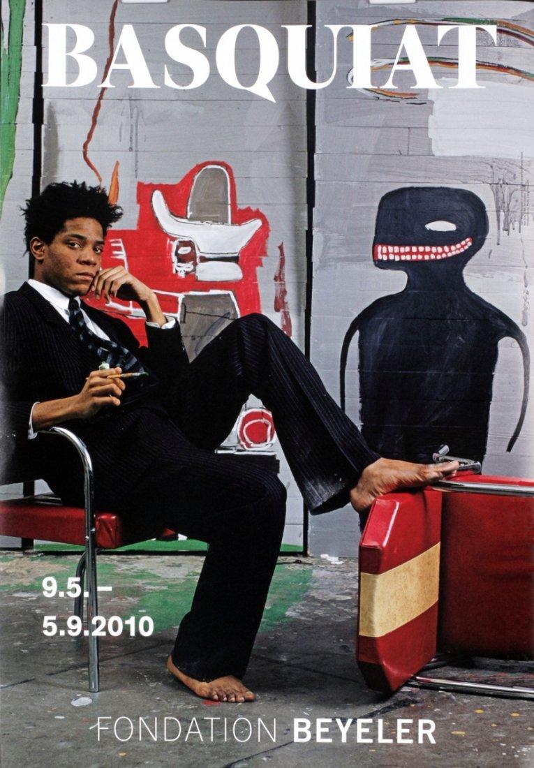 1012: 2010 Basquiat Studio Portrait Poster