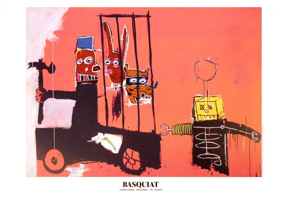 1013: 2010 Basquiat Molasses Poster