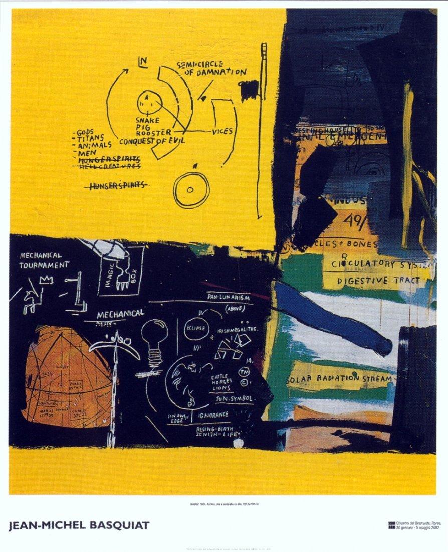 1021: Basquiat Untitled Poster