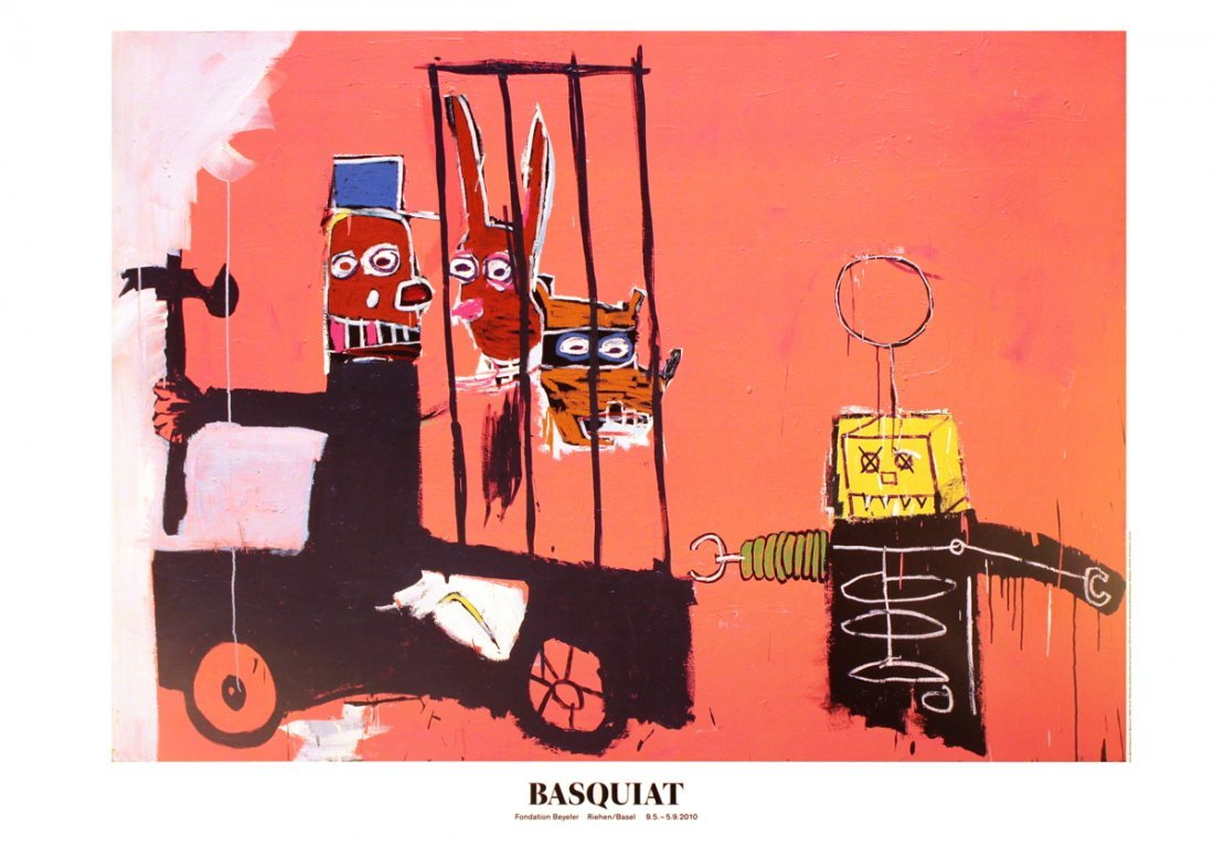 1022: 10 Basquiat 2010 Molasses Posters