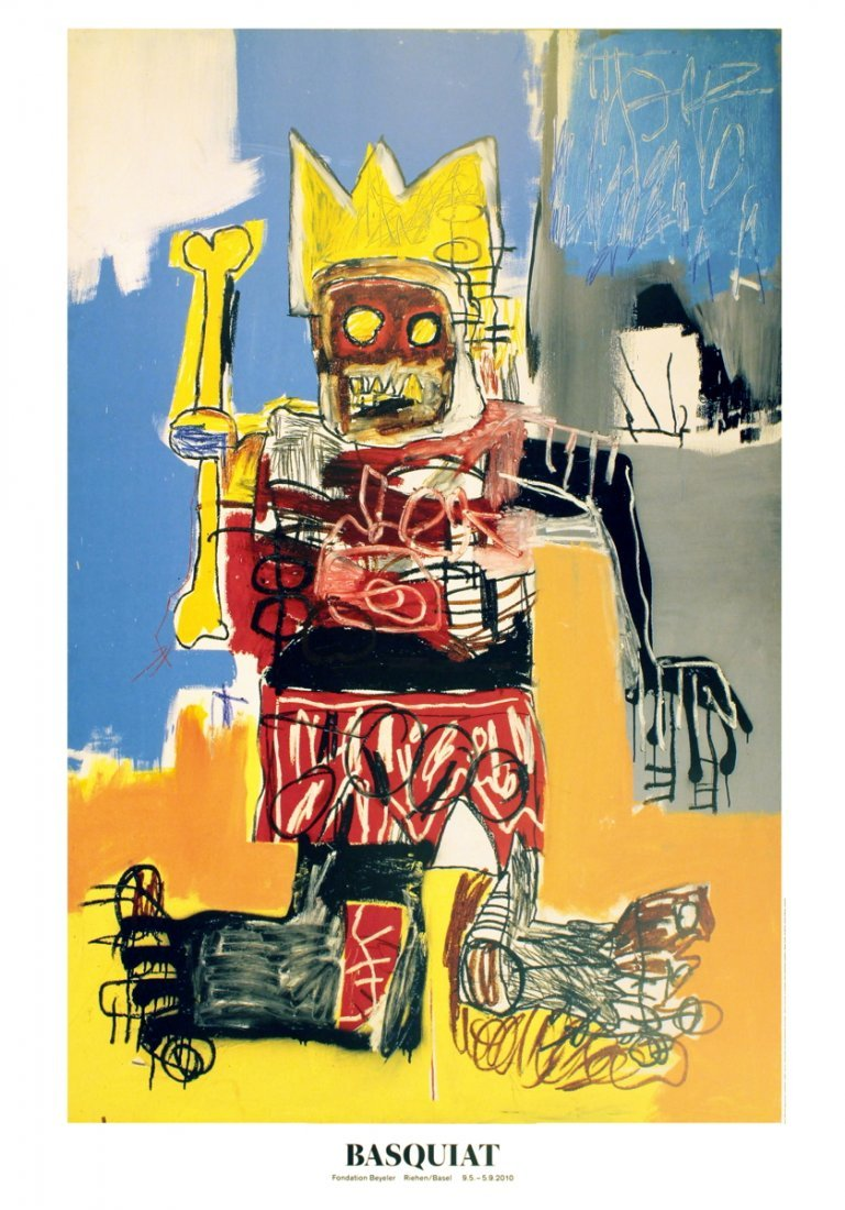 1023: 10 Basquiat 2010 Untitled (1982) Posters