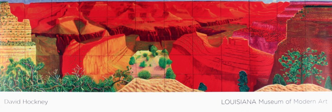 1259: 2009 Hockney A Closer Grand Canyon Poster