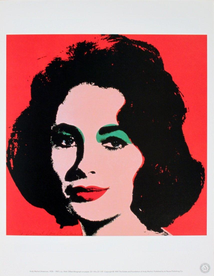 1693: Warhol Liz Poster