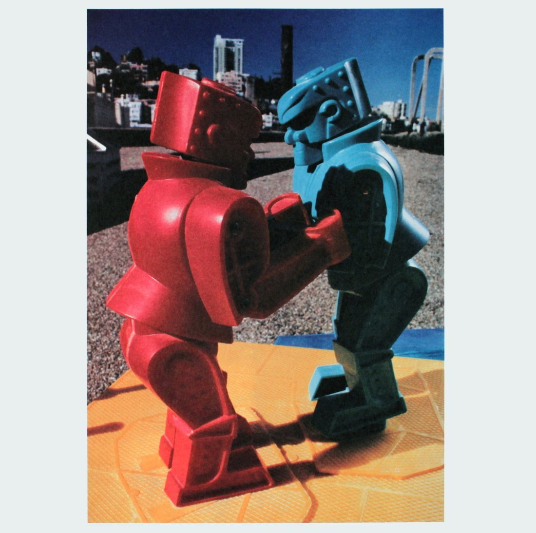 1006: Signed 1986 Adams From Art Sounds Print