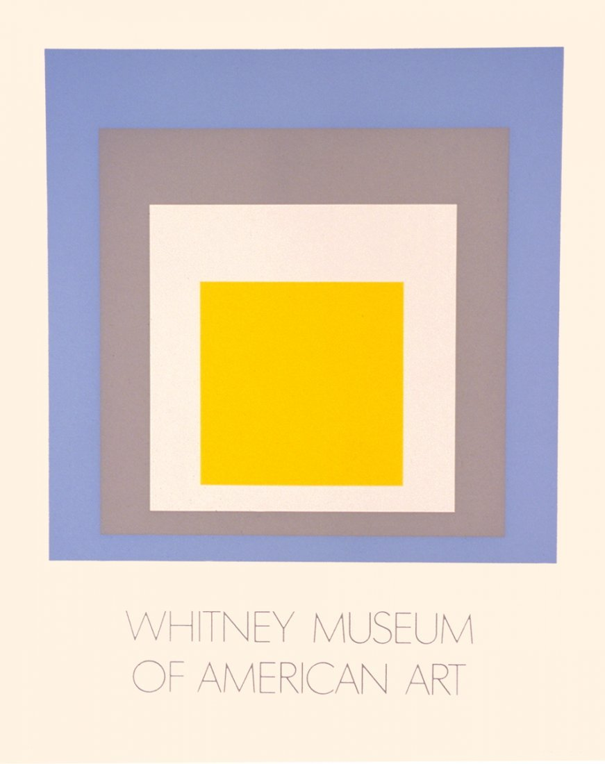 1009: Albers Homage to Square Ascending Serigraph